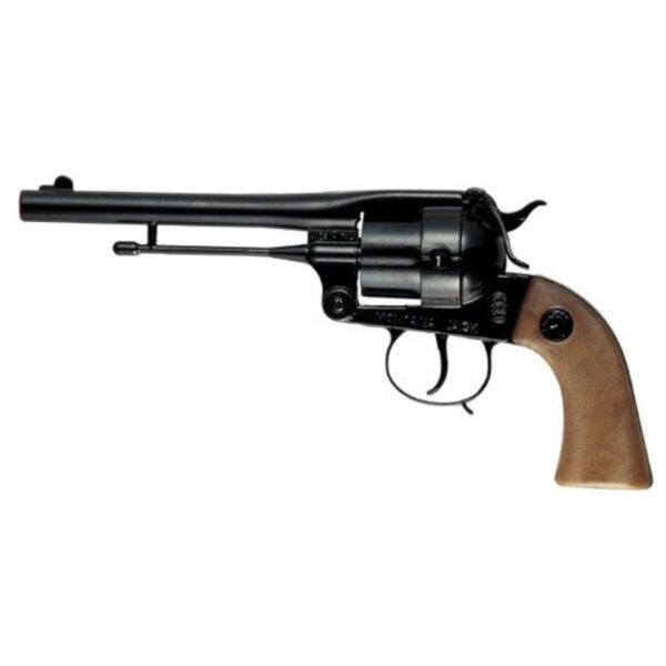 Villa Giocattoli 1530 - Pistola Giocattolo in Metallo a 12 Colpi 125 dB, Montana black ALTRO Maschio 12+ Anni ALTRI
