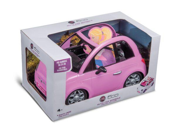 FIAT 500 ROSA - GRANDI GIOCHI - Altre bambole e accessori