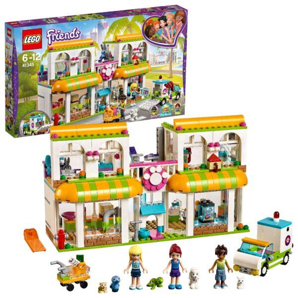 41345 - Il centro degli animali domestici di Heartlake City - Lego Friends - Toys Center ALTRI Unisex 12+ Anni, 5-8 Anni, 8-12 Anni LEGO FRIENDS