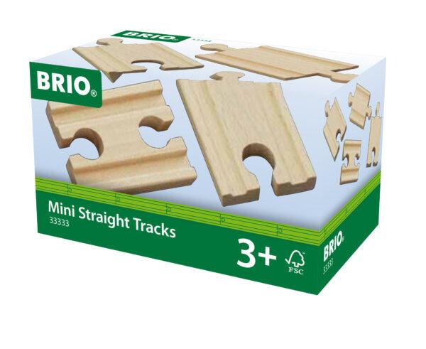 BRIO binari dritti mini BRIO Unisex 12-36 Mesi, 3-4 Anni, 3-5 Anni, 5-7 Anni, 5-8 Anni ALTRI