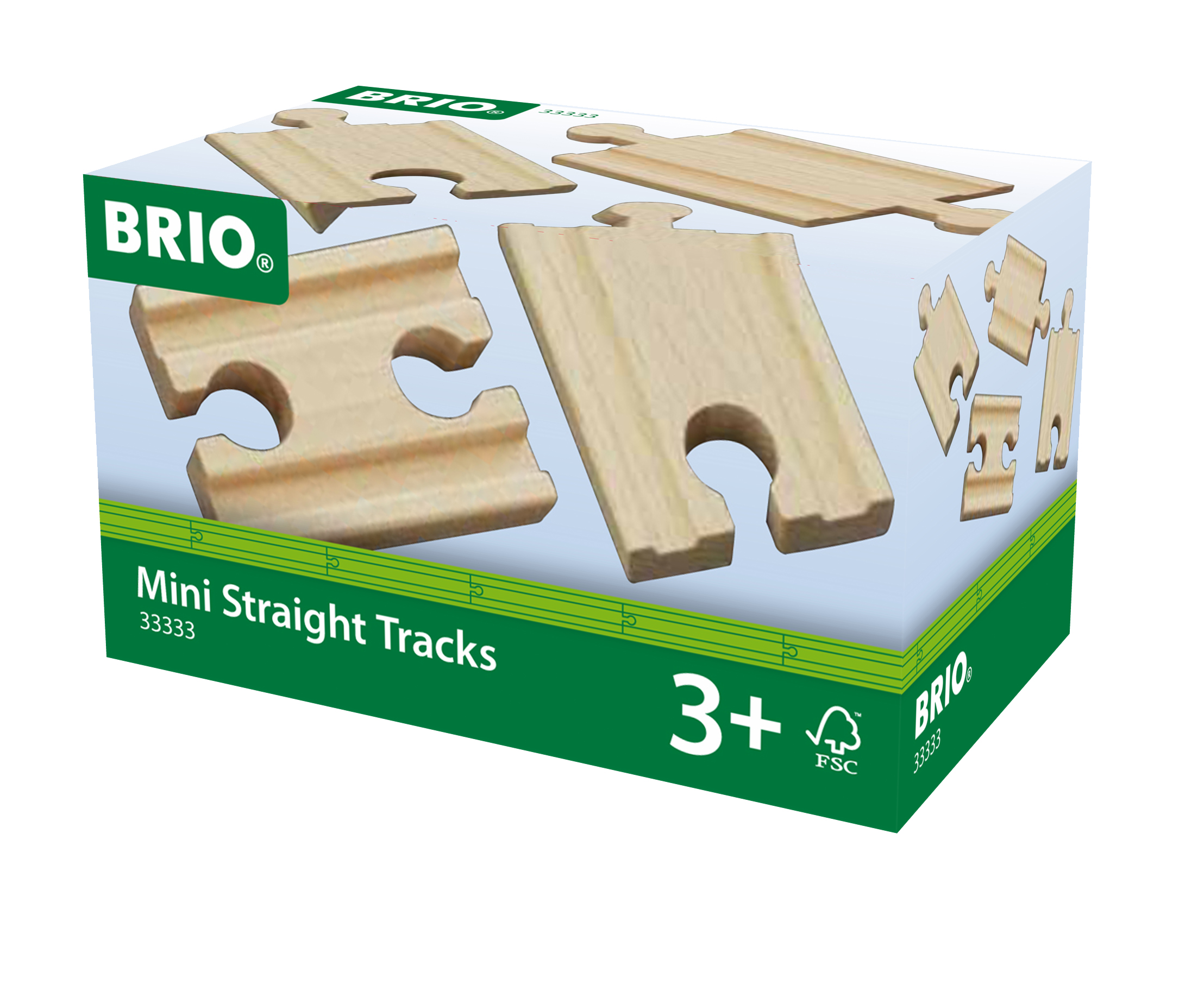 Brio binari dritti mini - BRIO