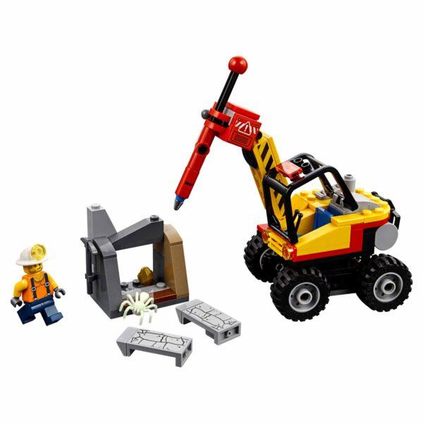60185 - Spaccaroccia da miniera - Lego City - Toys Center - LEGO CITY - Costruzioni