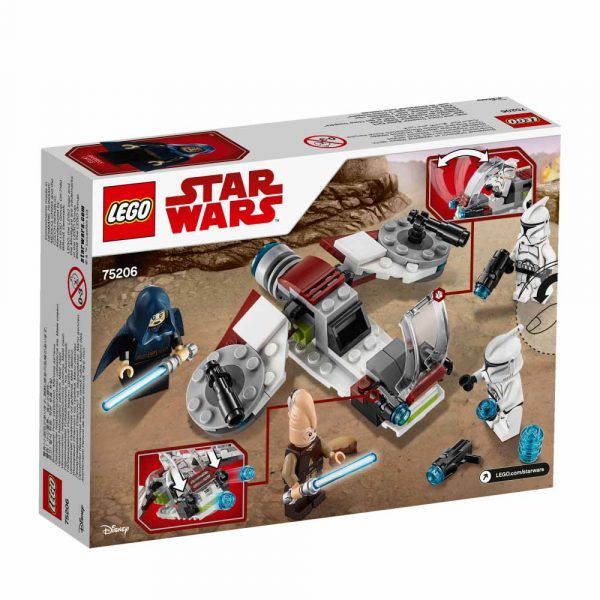 75206 - Battle Pack Jedi™ e Clone Troopers™ - Disney - Toys Center Star Wars Unisex 12+ Anni, 5-8 Anni, 8-12 Anni Disney