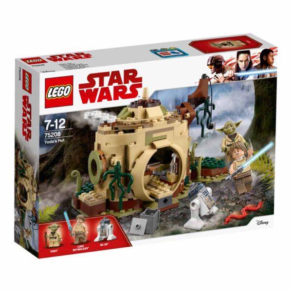 75208 - Il rifugio di Yoda - Best Seller Disney - DISNEY - Marche Disney Unisex 12+ Anni, 5-8 Anni, 8-12 Anni Star Wars
