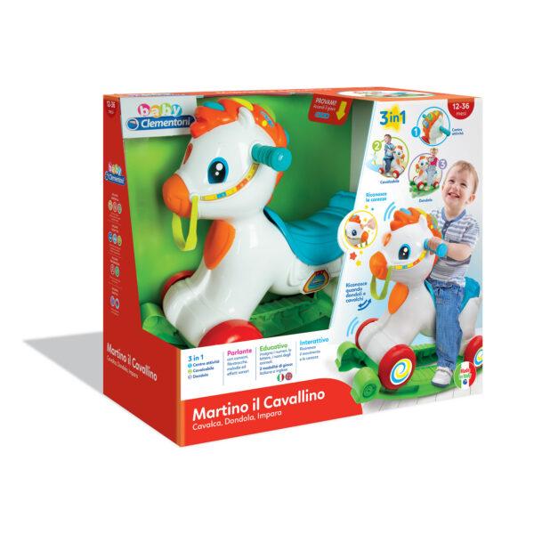MARTINO IL CAVALLINO - Altro - Toys Center ALTRO Maschio 0-12 Mesi, 12-36 Mesi, 3-5 Anni ALTRI