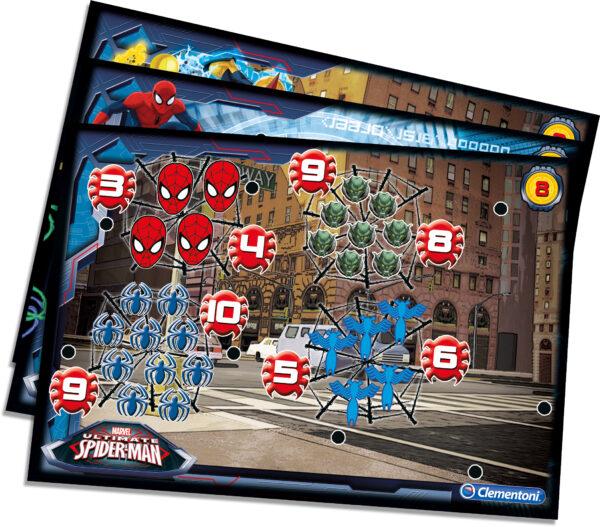 Marvel Spiderman CLEMENTONI - 13269 - Sapientino Travel Quiz Spiderman Unisex 12-36 Mesi, 3-4 Anni, 3-5 Anni, 5-7 Anni, 5-8 Anni
