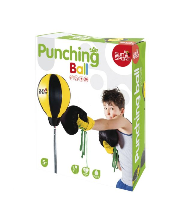 PUNCHING BALL CON SUPPORTO ALTRI Maschio 3-5 Anni, 5-7 Anni, 5-8 Anni, 8-12 Anni SUN&SPORT