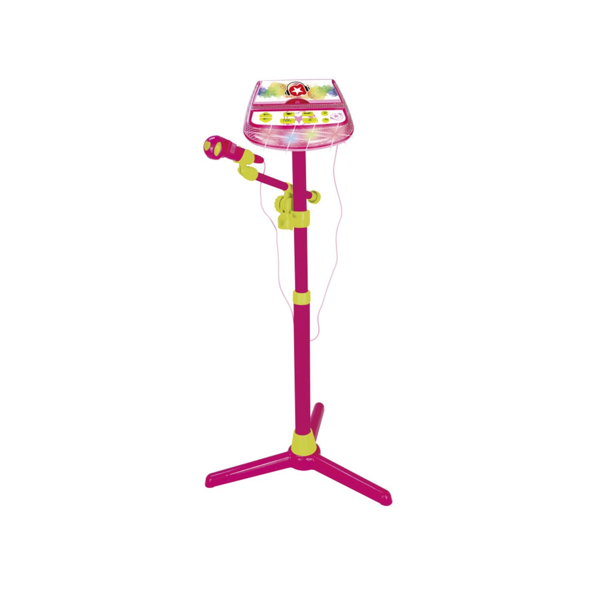 Microfono con consolle - MUSICSTAR, TOYS CENTER