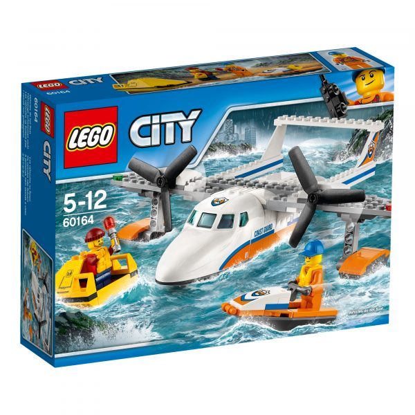 LEGO 60164 - Idrovolante di salvataggio LEGO CITY Maschio 3-5 Anni, 5-7 Anni, 5-8 Anni, 8-12 Anni ALTRI