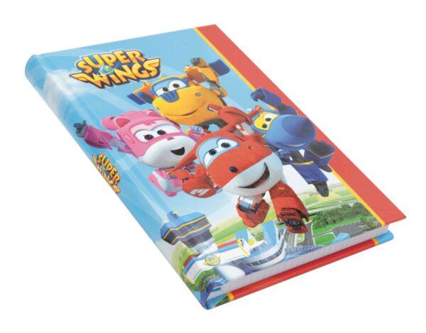 DIARIO 10 MESI FORMATO STANDARD SUPER WINGS - Altro - Toys Center Super Wings Unisex 3-5 Anni, 5-7 Anni, 5-8 Anni, 8-12 Anni ALTRO