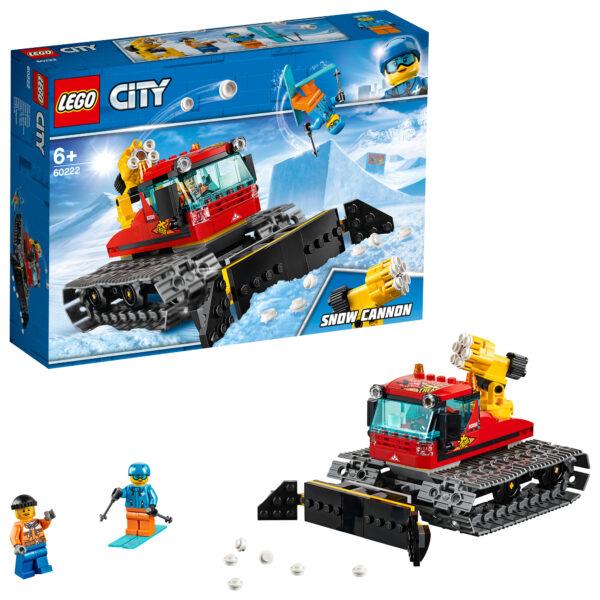 LEGO Gatto delle nevi - 60222 LEGO CITY Unisex 12+ Anni, 5-8 Anni, 8-12 Anni ALTRI