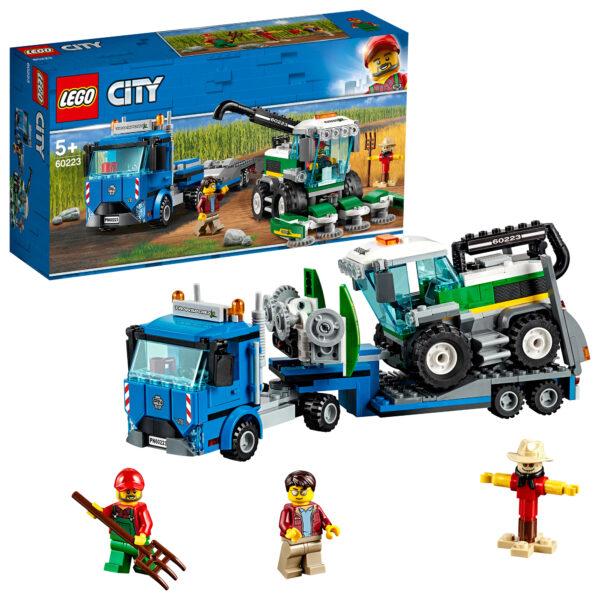 60223 - Trasportatore di mietitrebbia - LEGO CITY - Costruzioni