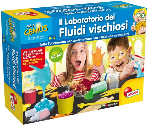 I'm a Genius Laboratorio Fluidi Vischiosi - I'm A Genius - Toys Center I'M A GENIUS Unisex 12+ Anni, 5-8 Anni, 8-12 Anni ALTRI
