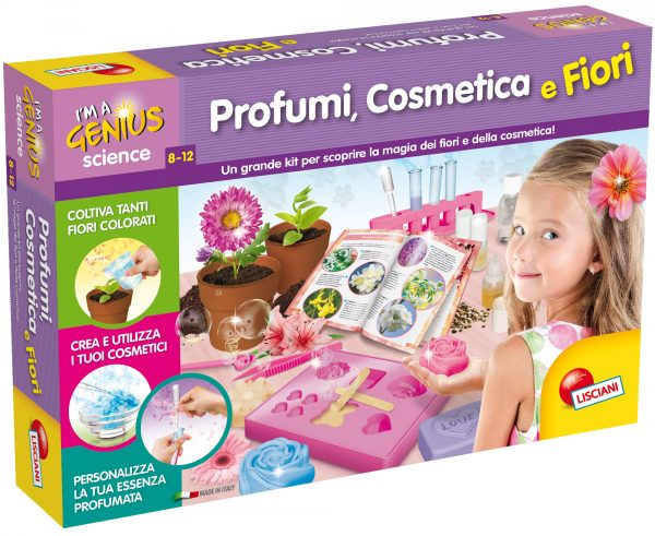 I'm a Genius Laboratorio di Profumi, Cosmetica e Fiori I'M A GENIUS Femmina 12+ Anni, 5-8 Anni, 8-12 Anni ALTRI