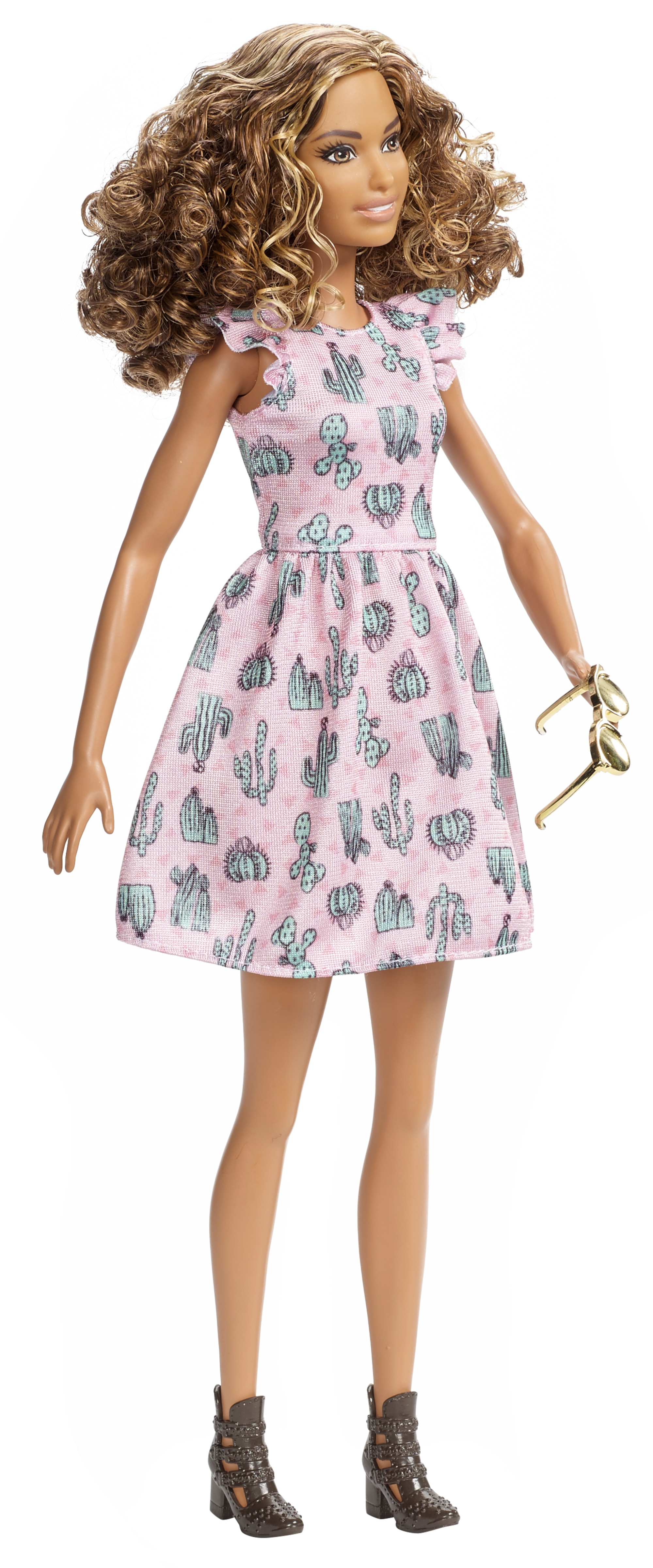 Barbie – fashionistas con abito stampa tribale - Barbie