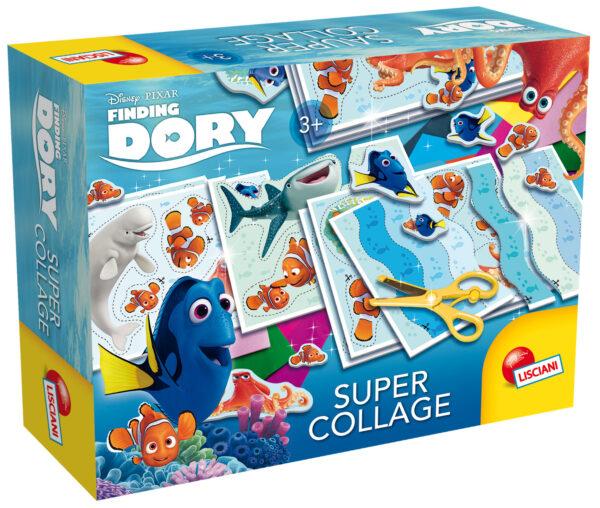 Dory supercollage DISNEY - PIXAR Unisex 12-36 Mesi, 3-4 Anni, 3-5 Anni, 5-7 Anni, 5-8 Anni, 8-12 Anni Alla Ricerca di Dory