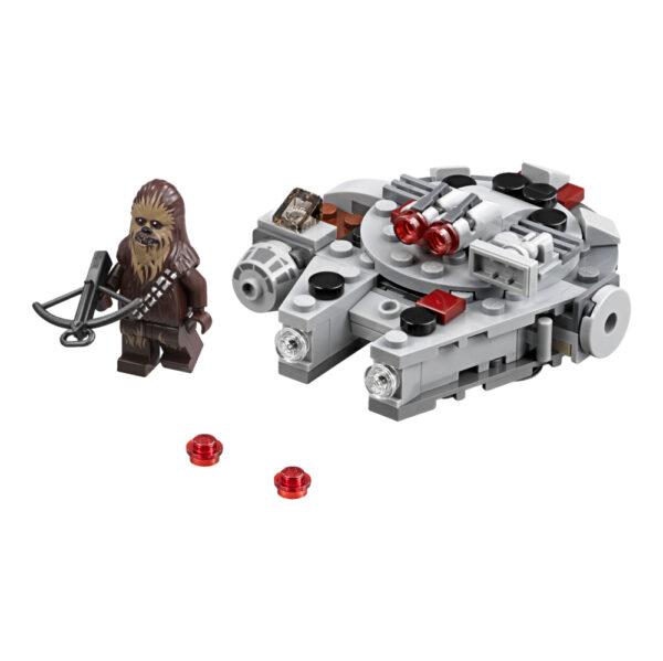 Disney Star Wars 75193 - Microfighter Millennium Falcon™ - DISNEY - DISNEY - Marche Maschio 12+ Anni, 5-8 Anni, 8-12 Anni