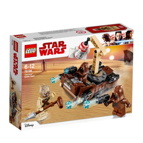 75198 - Battle Pack Tatooine™ - DISNEY - DISNEY - Marche Disney Maschio 12+ Anni, 5-8 Anni, 8-12 Anni Star Wars