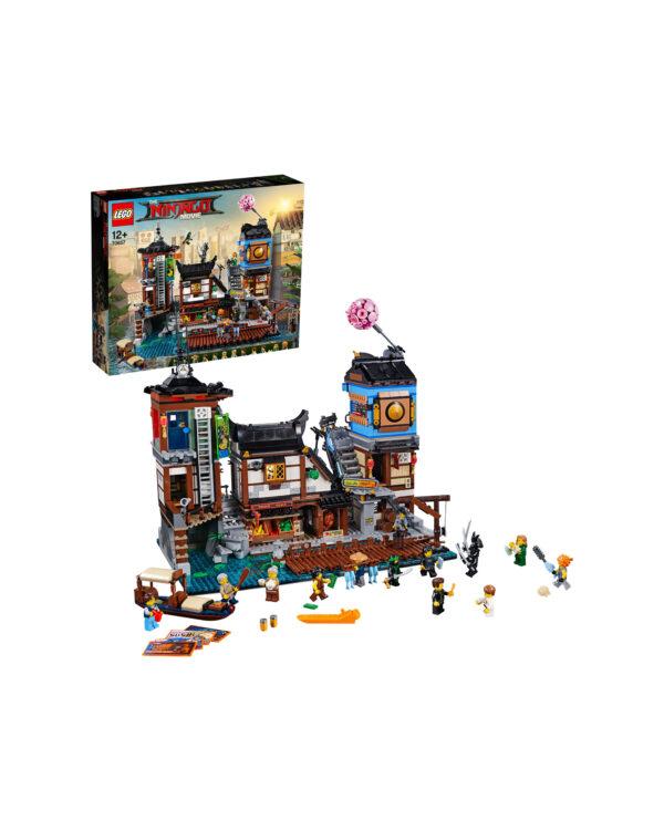 70657 - Porto di NINJAGO® City ALTRI Unisex 12+ Anni, 8-12 Anni LEGO NINJAGO