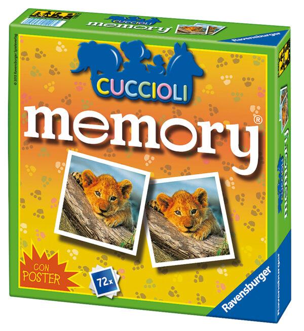 Memory dei Cuccioli MEMORY Unisex 3-4 Anni, 3-5 Anni, 5-7 Anni, 5-8 Anni, 8-12 Anni ALTRI