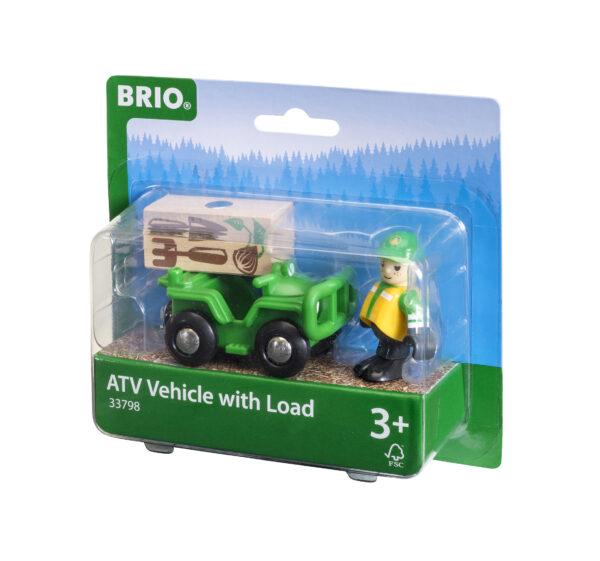BRIO veicolo ATV con carico BRIO Unisex 12-36 Mesi, 3-4 Anni, 3-5 Anni, 5-7 Anni, 5-8 Anni ALTRI