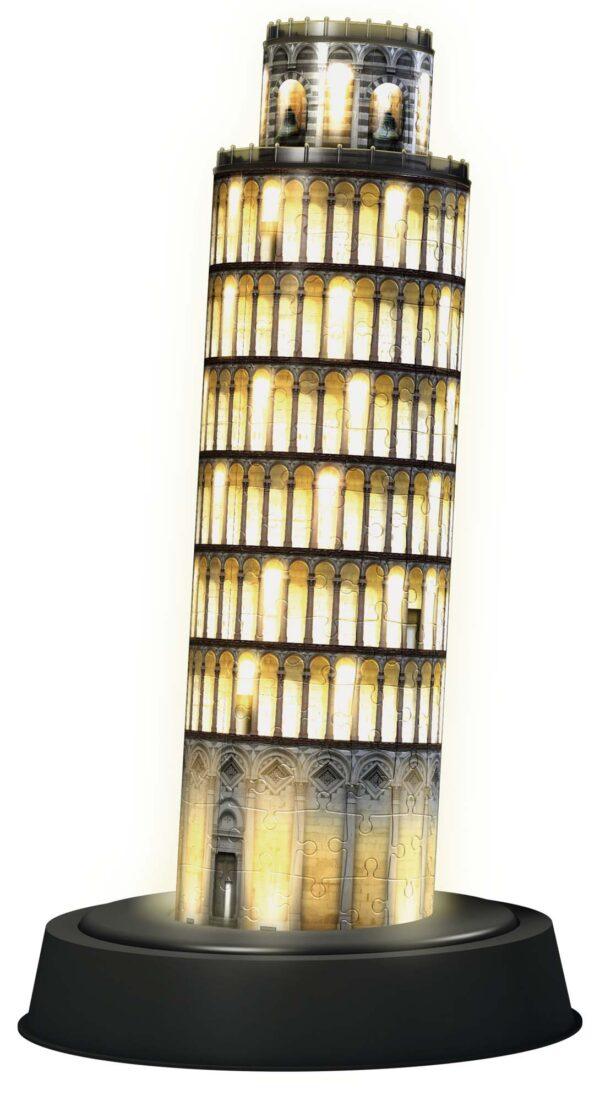 3D Puzzle Building Night Edition - Torre di Pisa ALTRI Unisex 12+ Anni, 8-12 Anni ALTRO