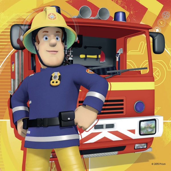 SAM IL POMPIERE ALTRO Maschio 3-5 Anni Sam il pompiere 3 in a box