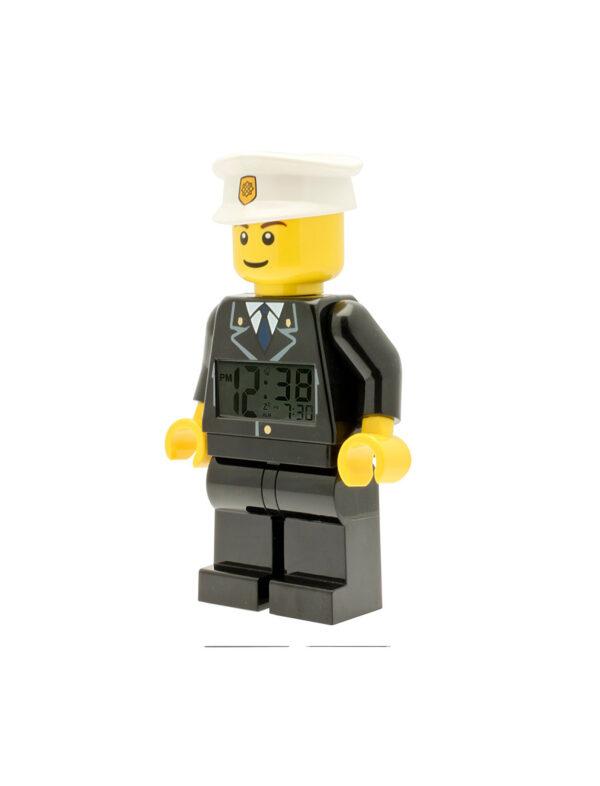 ALTRO ALTRI Sveglia LEGO City Poliziotto - Licenza Lego - LEGO - Marche Unisex 12+ Anni, 5-8 Anni, 8-12 Anni