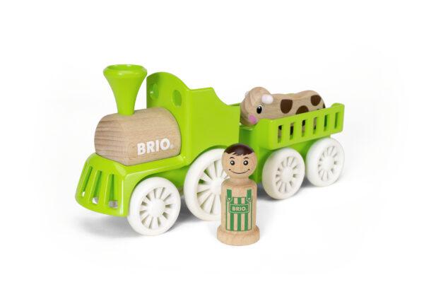 BRIO set trenino fattoria ALTRI Unisex 0-2 Anni, 12-36 Mesi, 3-4 Anni, 3-5 Anni BRIO