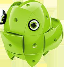 ALTRI KOR Unisex 3-5 Anni, 5-7 Anni, 5-8 Anni, 8-12 Anni KOR Color Green - GEOMAGWORLD - Marche
