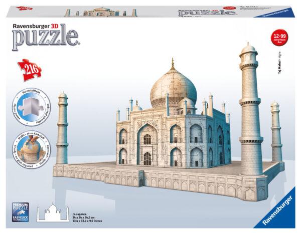 Puzzle 3D Taj Mahal - Giocattoli Toys Center RAVENSBURGER PUZZLE 3D Unisex 12+ Anni, 8-12 Anni ALTRI