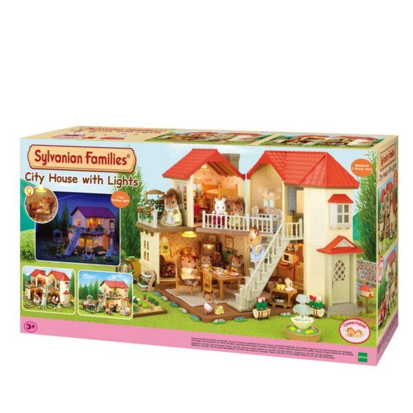CASA GRANDE con luce - Sylvanian Families - Toys Center SYLVANIAN FAMILIES Femmina 12-36 Mesi, 3-4 Anni, 3-5 Anni, 5-7 Anni, 5-8 Anni, 8-12 Anni ALTRI