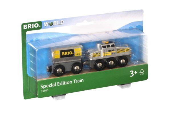 BRIO Treno special edition argentato - Brio Trenini, Vagoni E Altri Veicoli - Toys Center ALTRI Unisex 12-36 Mesi, 3-5 Anni, 5-8 Anni, 8-12 Anni BRIO TRENINI, VAGONI E ALTRI VEICOLI
