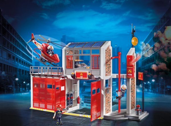 GRANDE CENTRALE DEI VIGILI DEL FUOCO - Playmobil - City Action - Toys Center ALTRI Unisex 12+ Anni, 3-5 Anni, 5-8 Anni, 8-12 Anni PLAYMOBIL - CITY ACTION