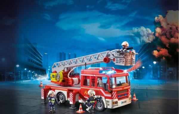 AUTOSCALA DEI VIGILI DEL FUOCO - Playmobil - City Action - Toys Center ALTRI Unisex 12+ Anni, 3-5 Anni, 5-8 Anni, 8-12 Anni PLAYMOBIL - CITY ACTION