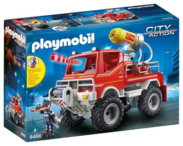 CAMION SPARA ACQUA DEI VIGILI DEL FUOCO - Playmobil - City Action - Toys Center PLAYMOBIL - CITY ACTION Unisex 12+ Anni, 3-5 Anni, 5-8 Anni, 8-12 Anni ALTRI