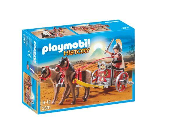 Biga romana PLAYMOBIL - HISTORY Maschio 3-4 Anni, 3-5 Anni, 5-7 Anni, 5-8 Anni, 8-12 Anni ALTRI