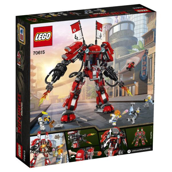 70615 - Mech di Fuoco ALTRI Maschio 12+ Anni, 8-12 Anni LEGO NINJAGO
