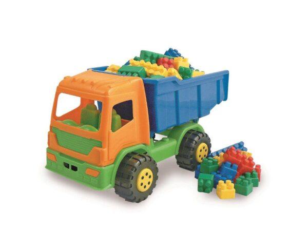 Camion senior con mattoni ALTRO Unisex 0-2 Anni, 12-36 Mesi, 3-4 Anni, 3-5 Anni, 5-8 Anni ALTRI