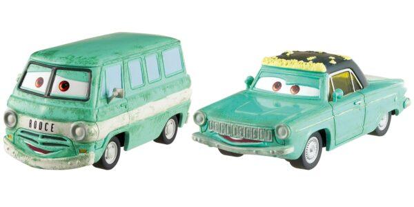 Cars 3 - Minny e Van Confezione da 2 veicoli Personaggi Die-cast - DXW06 - Disney - Pixar - Toys Center DISNEY - PIXAR Maschio 12-36 Mesi, 12+ Anni, 3-5 Anni, 5-8 Anni, 8-12 Anni CARS