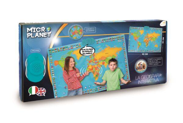 MICRO PLANET Cartina interattiva MICROPLANET Unisex 12+ Anni, 5-8 Anni, 8-12 Anni ALTRI