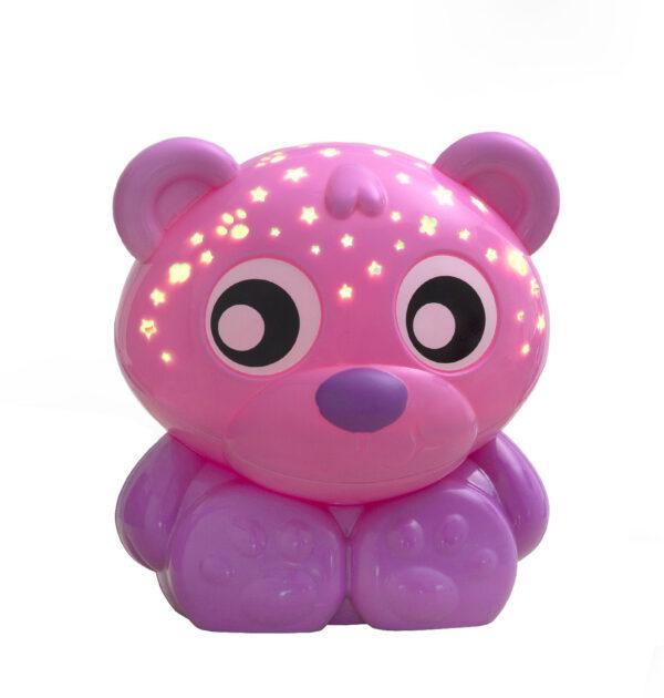 Buonanotte orso - luce notturna e proiettore (rosa) ALTRO Femmina 0-12 Mesi, 12-36 Mesi ALTRI