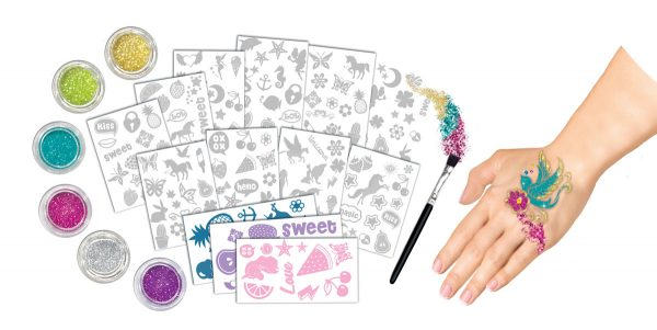 MISS FASHION ALTRI MISS FASHION GLITTER TATOOS Femmina 12+ Anni, 5-8 Anni, 8-12 Anni