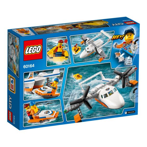 LEGO 60164 - Idrovolante di salvataggio ALTRI Maschio 3-5 Anni, 5-7 Anni, 5-8 Anni, 8-12 Anni LEGO CITY