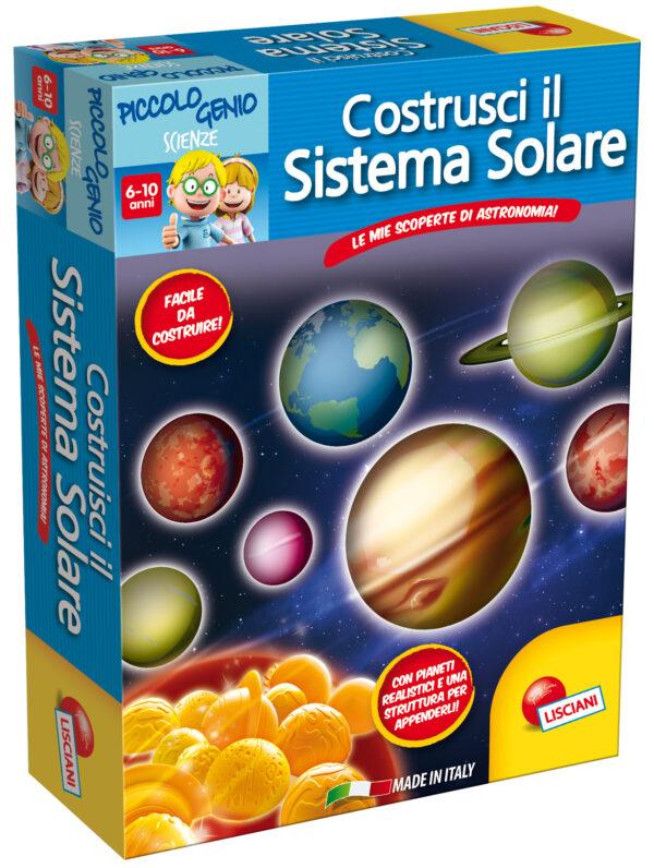 Piccolo Genio Il Sistema Solare - Piccolo Genio - Toys Center PICCOLO GENIO Unisex 5-7 Anni, 5-8 Anni, 8-12 Anni ALTRI