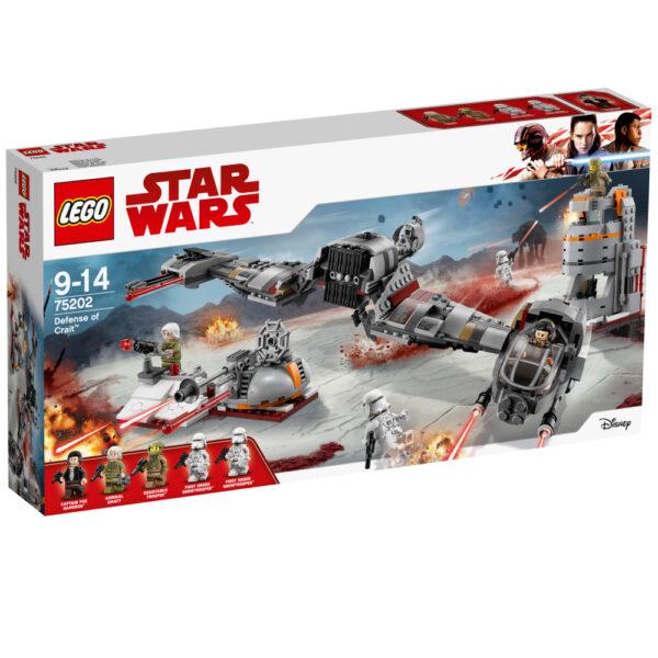 LEGO STAR WARS - Difesa di Crait™ - 75202 Disney Maschio 12+ Anni, 8-12 Anni Star Wars
