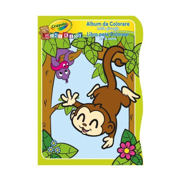 ALTRO ALTRI Album da colorare Crayola Mini Kids - 3 soggetti assortiti Unisex 0-12 Mesi, 12-36 Mesi, 3-5 Anni