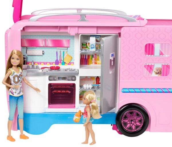 Camper dei sogni 12-36 Mesi, 12+ Anni, 3-5 Anni, 5-8 Anni, 8-12 Anni Femmina Barbie ALTRI