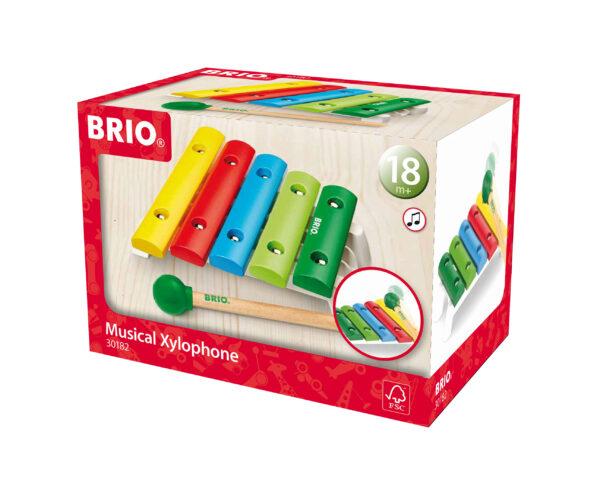 BRIO strumento musicale - xilofono - BRIO Giochi pedagogici - BRIO infant - BRIO - Linee BRIO Unisex 0-12 Mesi, 12-36 Mesi ALTRI