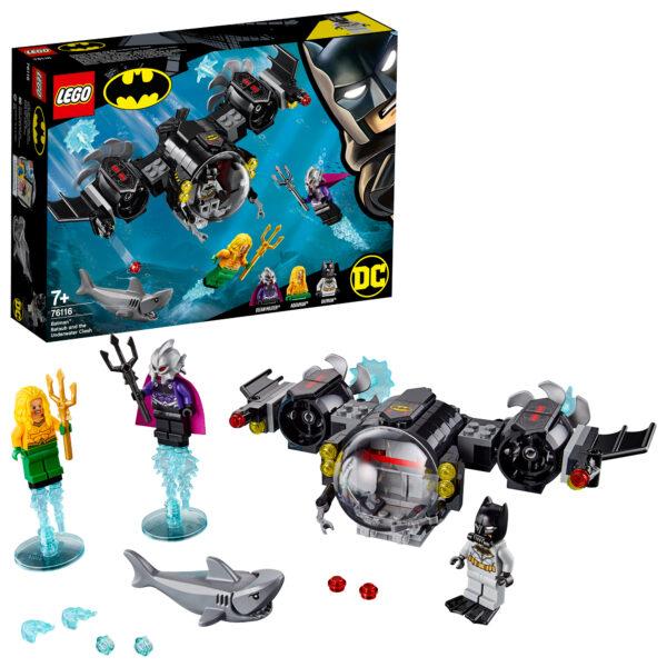 76116 - Batsub di Batman™ e il duello sottomarino - Lego Super Heroes - Toys Center - LEGO SUPER HEROES - Costruzioni